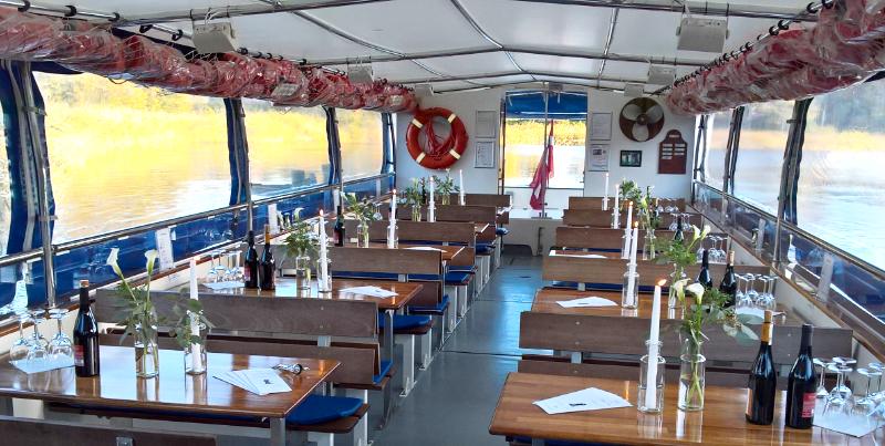 charter tur på sorø sø til udflugt, fest, firmaudflugt